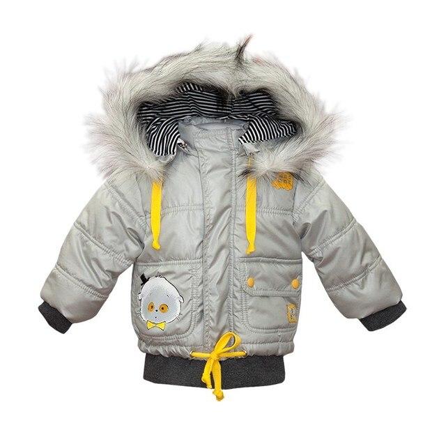 Basik Kids Куртка с капюшоном светло-серая