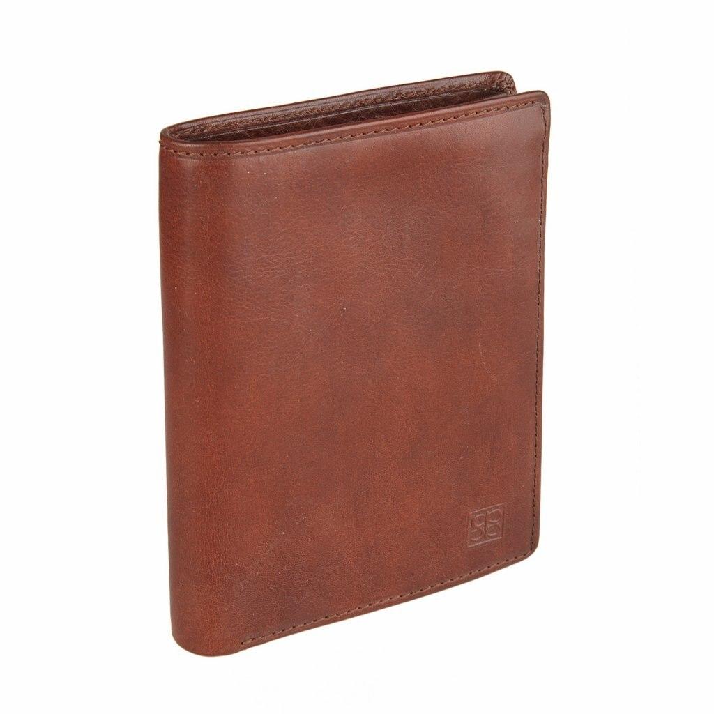 Coin Purse Sergio Belotti 1422 Milano Brown кошельки бумажники и портмоне sergio belotti 1462 milano black