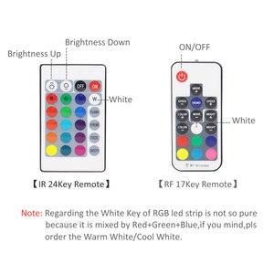 Image 4 - Светодиодная лента RGB с питанием от батарейки SMD 5050, Водонепроницаемая ИК радиочастотная лента с дистанционным управлением, питание от 4AA батарей, светодиодная лента