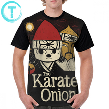 Karate Kid T Shirt The Onion T-Shirt Print 4xl Graphic Tee Men Short-Sleeve Fun Fashion 100 Percent Polyester Tshirt