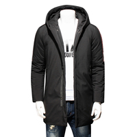 Plus size 8XL 7XL 6XL Men's Winter Warm Jacket Hooded Slim Casual Coat Cotton padded Jacket Parka Overcoat Hoodie Thick Coat
