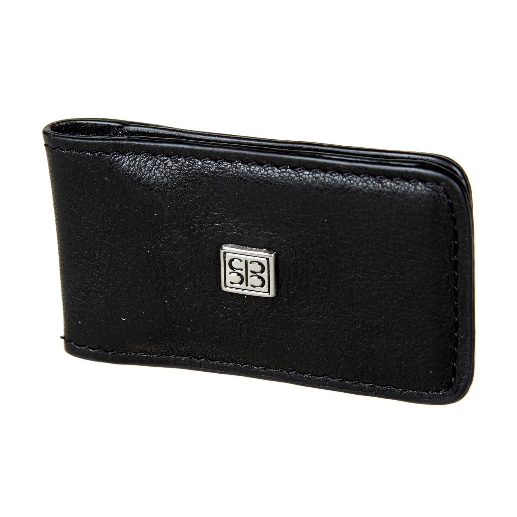 Money clip Sergio Belotti 1201 West black edcgear abs double sides slim money clip card holder