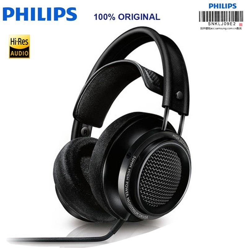 Original Philips headset Fidelio X2hr Headphones Voted Best Product In 2015 With 50 Mm High power