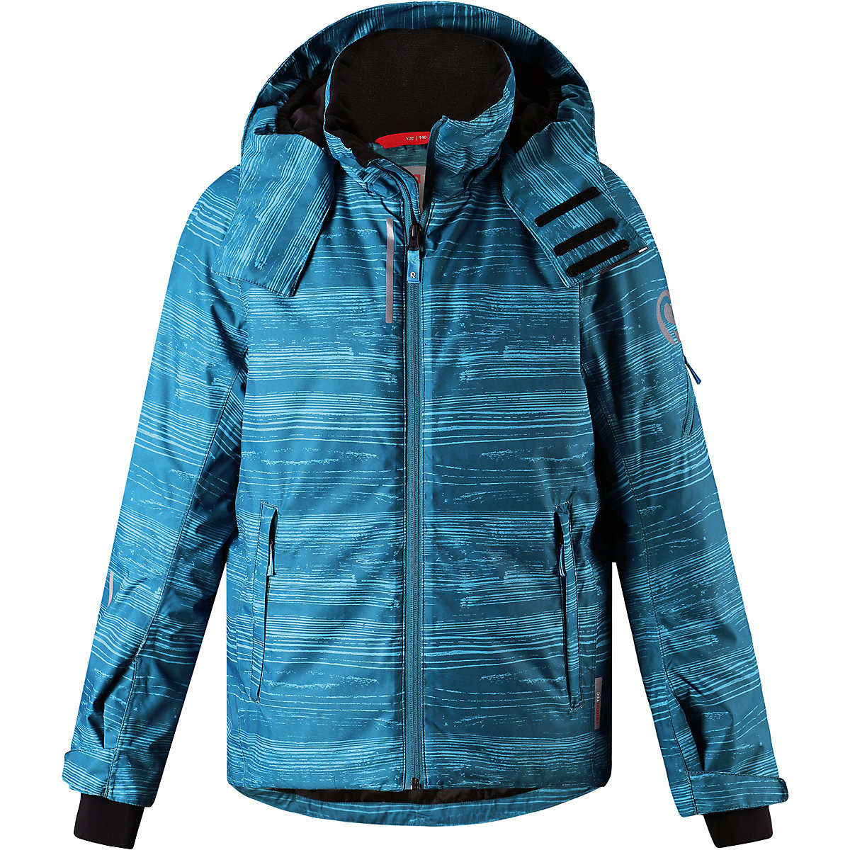 REIMA Jackets 8689288 for boys polyester winter  fur clothes boy reima jackets 8689725 for boys and girls polyester winter fur clothes boy girl