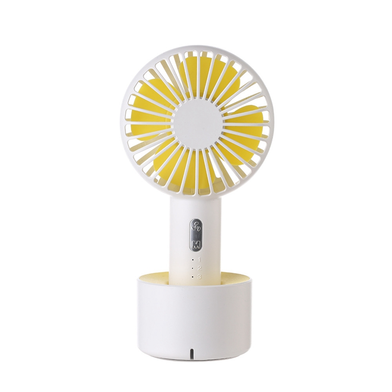 Fan Mini Handheld Desktop Outdoor Silent Portable Bracket Small Fan Usb Charging Fan-in Fans from Consumer Electronics