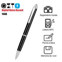 16 ГБ Цифровой аудио диктофон ручка MP3-плеер Диктофон звукозапись ручка профессиональное шумоподавление grabadora de voz