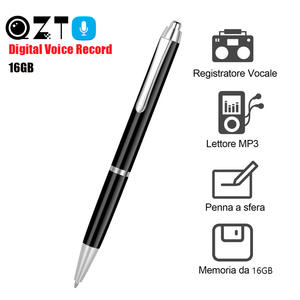 Pen Dictaphone Sound-Recording-Pen Audio Professional Mp3-Player Noise-Reduction Digital
