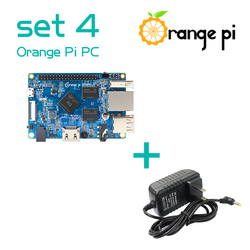 Orange Pi PC SET4 : Orange Pi PC + Power Supply Run Android 4.4, Ubuntu, Debian Image