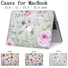 Etui na laptopa Apple Macbook 13.3 15.6 Cal na gorące MacBook Air Pro Retina 11 12 13 15.4 z ekranem protector klawiatura Cove