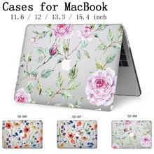 Laptop Case Apple Macbook Için 13.3 15.6 Inç Sıcak MacBook Hava Pro Retina 11 12 13 15.4 Ekran koruyucu Klavye Kapağı