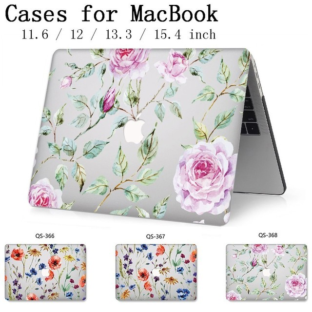 Laptop Case For Apple Macbook 13.3 15.6 Inch For Hot MacBook Air Pro Retina 11 12 13 15.4 With Screen Protector Keyboard Cove