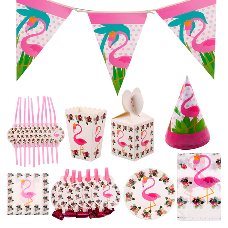 FENGRISE Beach Party Novelty Flamingo Party Decorations Wedding Decor Pineapple