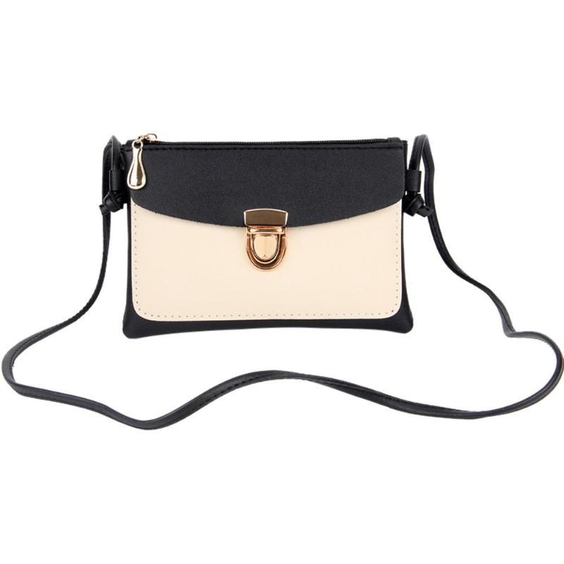 2018 New Bullet Lock Small Side Of Mini Mobile Phone Bag Messenger Bag Nice Women Bags Shoulder Bags Fashion Handbags 1
