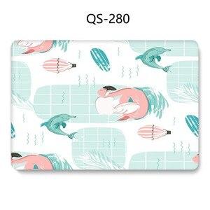 Image 3 - Novo Notebook Sleeve Para MacBook Air Pro Retina 11 12 13 Quente 15.4 13.3 Teclado Enseada Polegada Com Protetor de Tela para o Caso Do Laptop