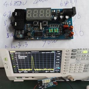 Image 2 - DC 12V FM Transmitter PLL Stereo 0.5W FM Radio broadcast Station receiver Digital LED display frequency diy kits  NEW