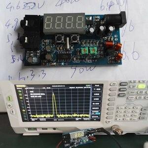 Image 2 - DC 12V FM verici PLL Stereo 0.5W FM radyo yayını istasyonu alıcısı dijital LED ekran frekans diy kitleri yeni