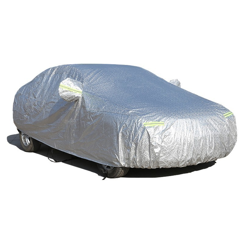 Image 5 - Waterproof Car Covers For Toyota Avalon With Side Door Open Outdoor Sun Protection Cover Car Reflector Dust Rain Snow Protector-in Car Covers from Automobiles & Motorcycles