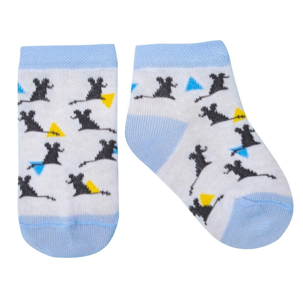 Socks Crumb I Mexico. Mouse , 100% cotton stylish football cotton socks yellow pair