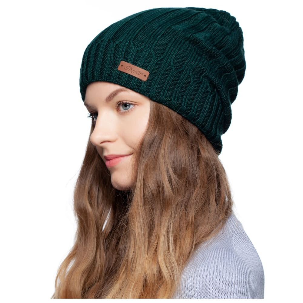 Cap double warm Noryalli (malachite) leather hat male leather flat cap autumn winter warm peaked cap