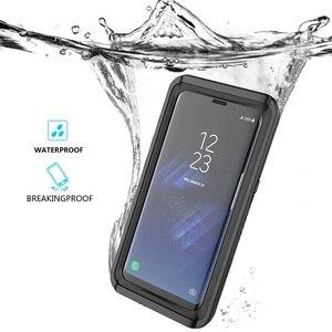 Image 2 - Casewin Voor Samsung Galaxy S8 Case IP68 Waterdicht 360 Graden Bescherming Onderwater Cover Voor Samsung Galaxy S8 Case Transparant