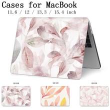 עבור מחשב נייד מקרה MacBook 13.3 15.4 אינץ עבור MacBook רשתית 11 12 13 15 עם מסך מגן מקלדת קוב אפל תיק מקרה