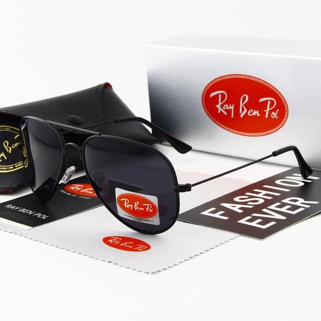 משקפיים טייס Aviador משקפי שמש גברים נשים מקוטבות מותג מעצב משקפי שמש נהיגה משקפי שמש oculos vintag משקפיים