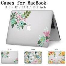2019 чехол для ноутбука Apple Macbook 13,3 15,6 дюймов для MacBook Air Pro retina 11 12 13 15,4 с защитной клавиатурой