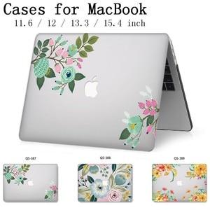 Image 1 - 2019 чехол для ноутбука Apple Macbook 13,3 15,6 дюймов для MacBook Air Pro retina 11 12 13 15,4 с защитной клавиатурой