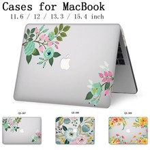 2019 Laptop Case For Apple Macbook 13.3 15.6 Inch For MacBook Air Pro Retina 11 12 13 15.4 With Screen Protector Keyboard Cove