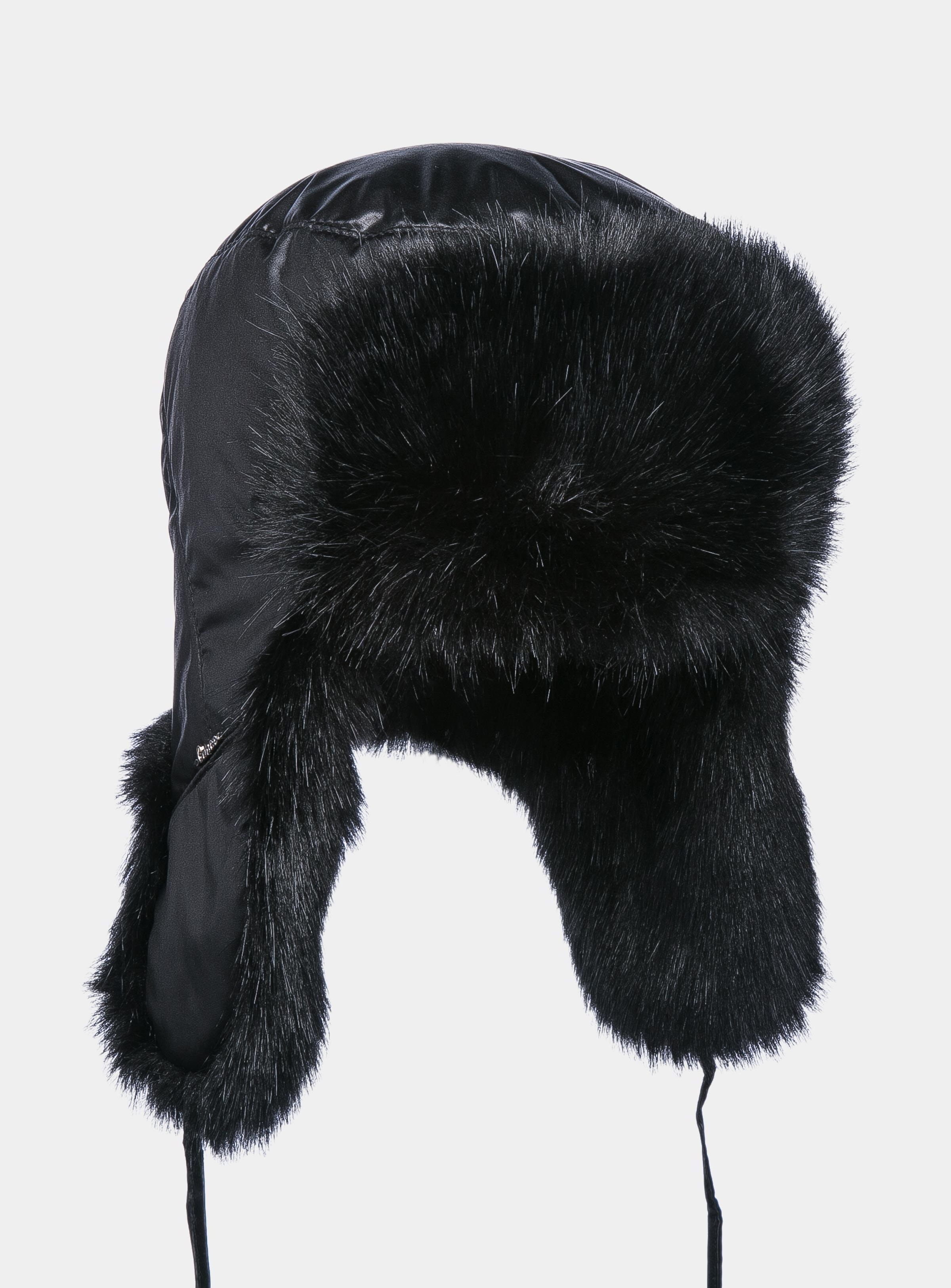 Earflap hat Canoe 3443101 for men fashionable adjustable letters embroidery black baseball hat for men