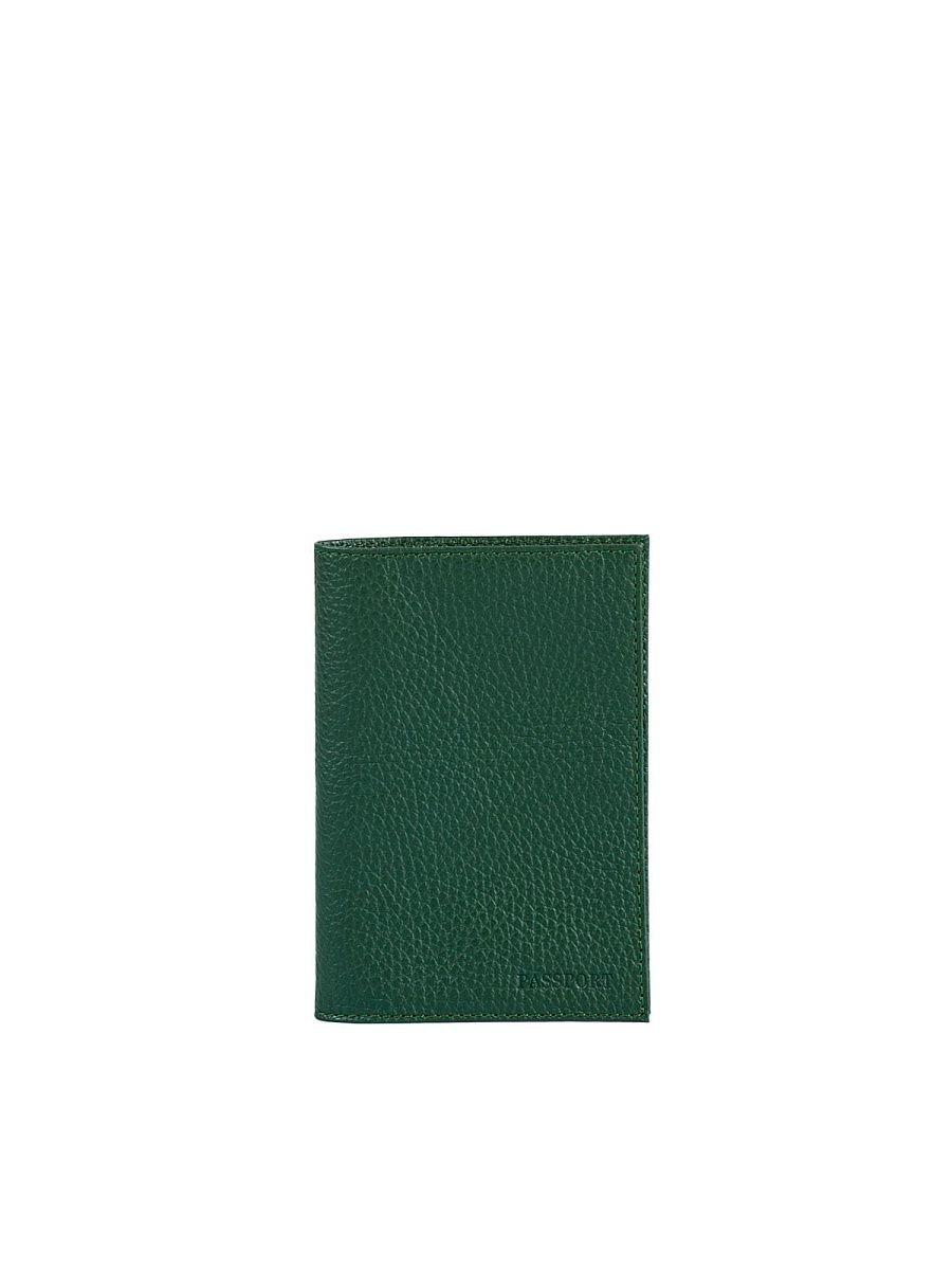 Passport cover. O.1.PM. Dark green