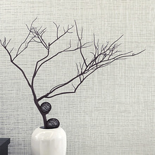 Modern Minimalist Color Plain Woven Wallpaper Bedroom Living Room Tv The Engineering Background Of Flax Straw Wallpaper