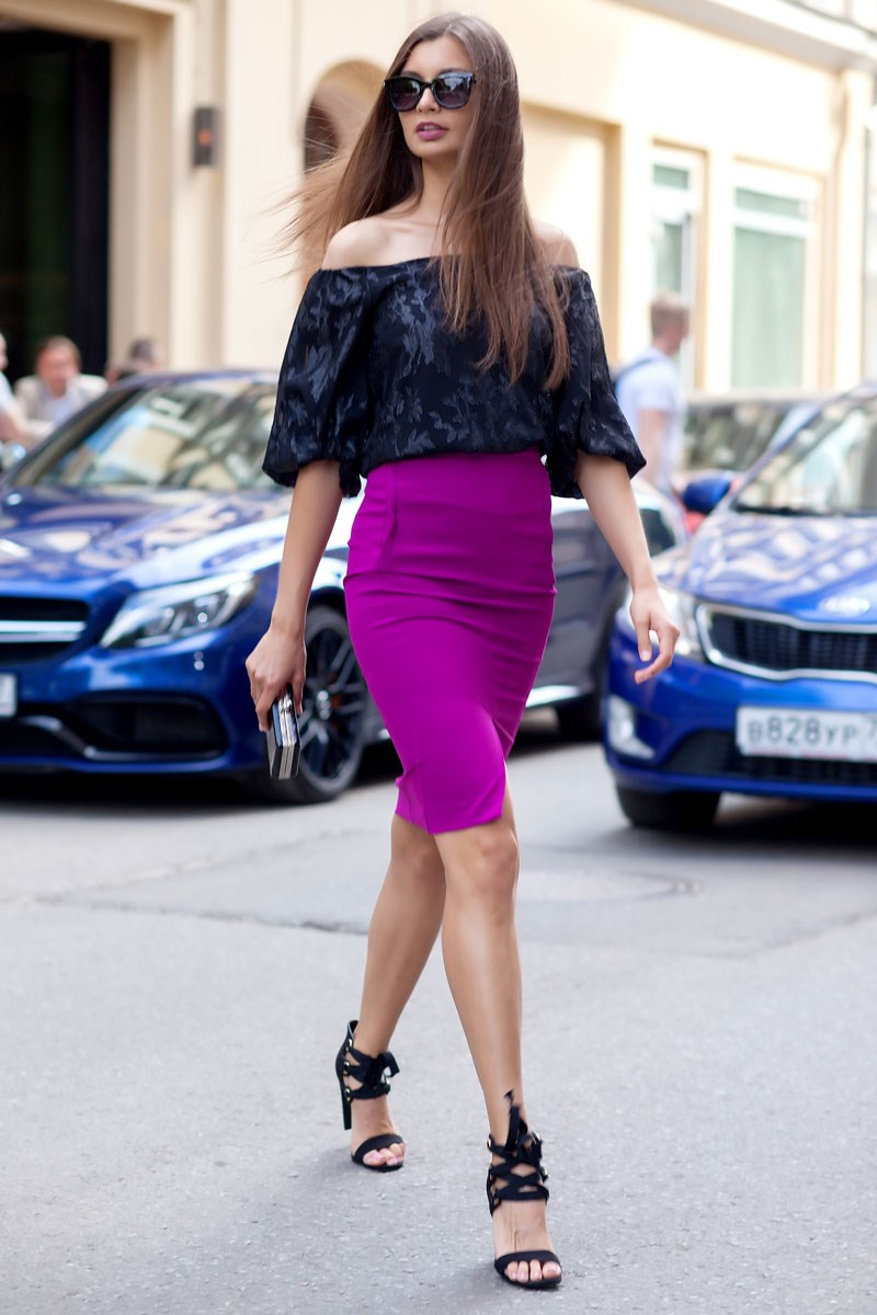 Blouse 1204941-02 ruffle trim blouse