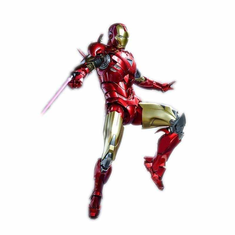 Marvel legends Mk6 1/6 30cm Iron Man alloy action Movie Periphery The avengers figures Model Joint Movable Figma toy for child