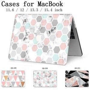 Image 1 - Für Neue Laptop Fall Notebook Sleeve Taschen Für MacBook Air Pro Retina 11 12 13 15,4 13,3 Zoll Mit Bildschirm protector Tastatur Cove