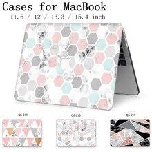 Para o Novo Caso de Laptop Sacos Luva Notebook Para O Ar MacBook Pro Retina 11 12 13 15.4 13.3 Polegada Com Tela protetor de Teclado Enseada