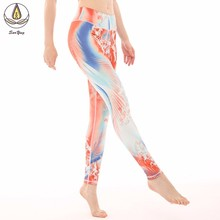 New Women Gym Fitness Yoga Denim Pants Sport Leggings Scrunch Butt Lift High Waist Workout Sports Wear Hips Up Trousers Tights цены
