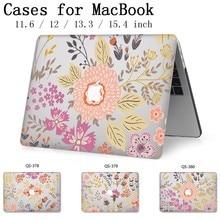 Cassa del computer portatile Caldo Per Apple Macbook 13.3 15.6 Pollici Per MacBook Air Pro Retina 11 12 13 15.4 Con Schermo protezione della Tastiera Cove