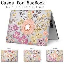 Funda para ordenador portátil para Apple Macbook 13,3 15,6 pulgadas para Macbook Air Pro Retina 11 12 13 15,4 con Protector de pantalla teclado Cove