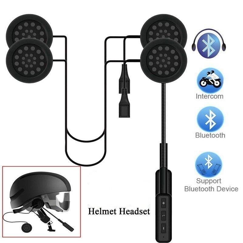 Wireless Bluetooth Headset Motorcycle Headset Headphone Speaker Hand-free Music MP3 MP4 Smart Phone