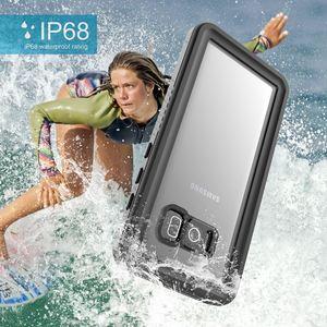 Image 3 - CASEWIN 삼성 갤럭시 S8 케이스 IP68 방수 360 학위 보호 수중 커버 S8 케이스 투명