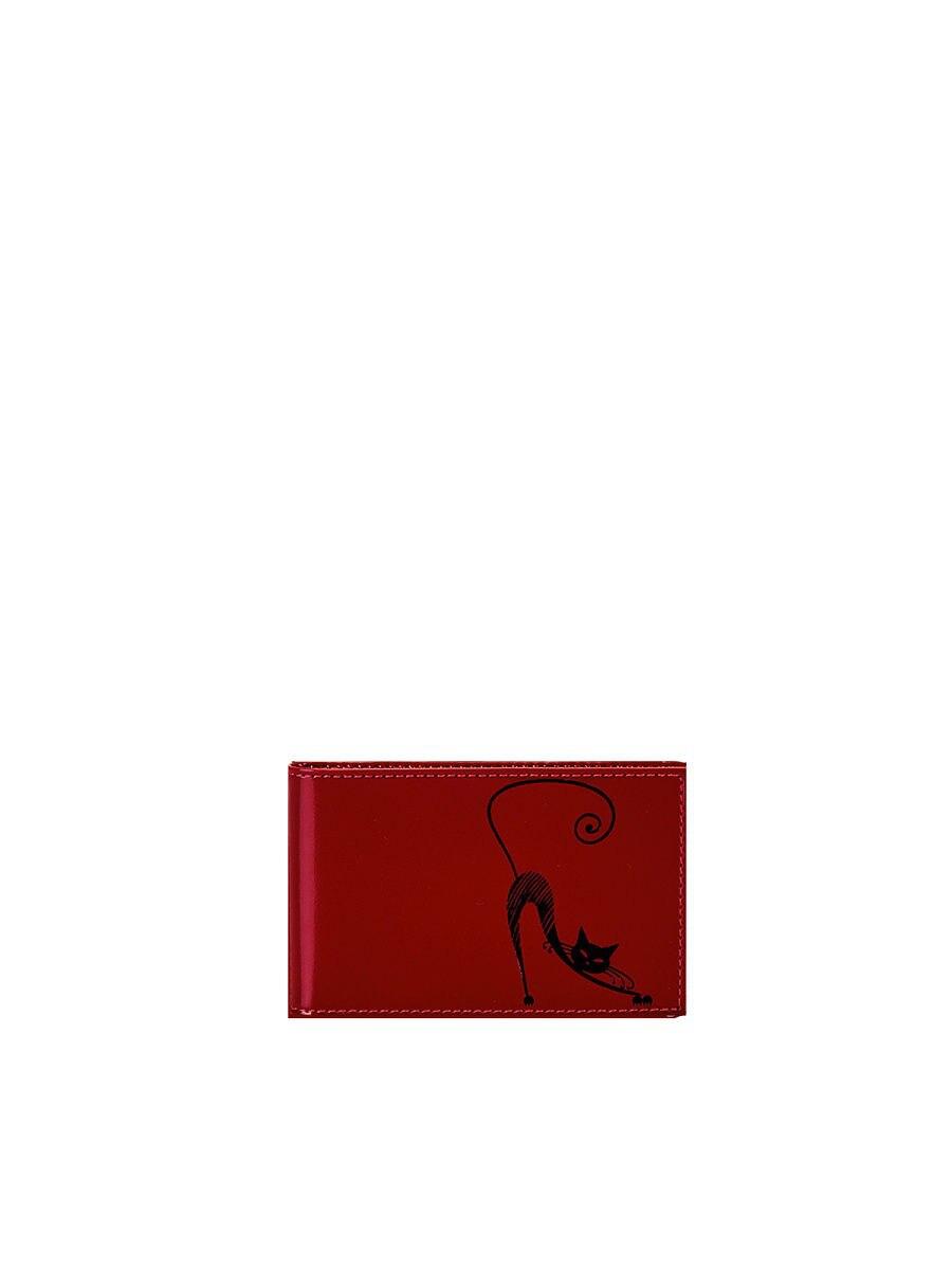 Business Card Holder V.37.SH. Red unistyle fashion butterfly business card holder card women leather wallet credit card holder book id card case floral cardholder