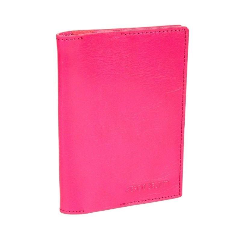 Card & ID Holders SergioBelotti 3550 IRIDO fuxia 2017 purse wallet big capacity female famous brand card holders cellphone pocket gifts for women money bag clutch passport bags