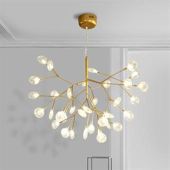 Brillo casa Lampade candelabro moderno diseño De Techo Moderna Para ...