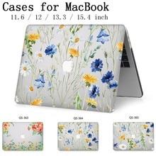 מקרה נייד עבור Apple Macbook 13.3 15.6 אינץ עבור MacBook רשתית 11 12 13 15.4 חם עם מסך מגן מקלדת קוב