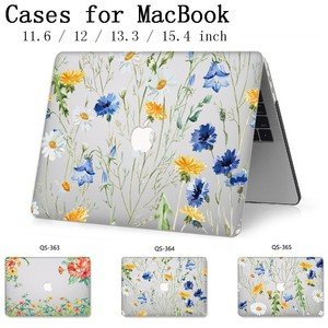 Image 1 - Laptop Case For Apple Macbook 13.3 15.6 Inch For MacBook Air Pro Retina 11 12 13 15.4 Hot With Screen Protector Keyboard Cove