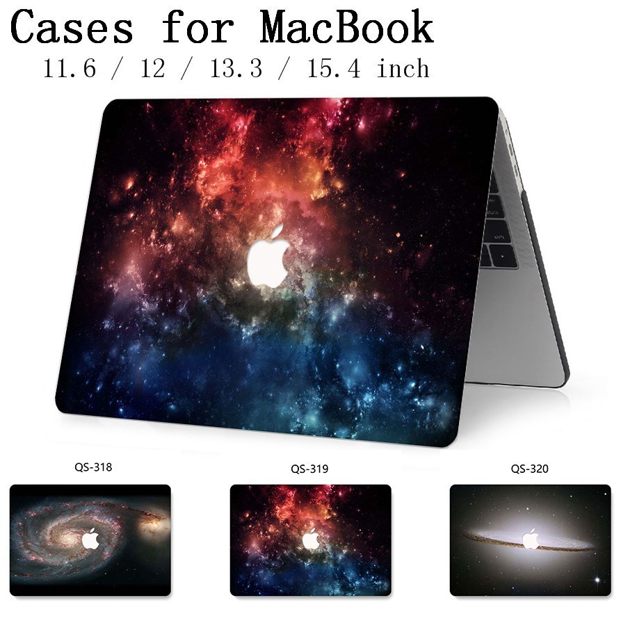 Laptop Bag Case For Hot Macbook Air Pro Retina 11 12 13 15.4 For Macbook 13.3 15.6 Inch With Screen Protector Keyboard Cove Gift