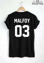 DRACO MALFOY T-SHIRT MALFOY 03 Fashion Hipster Unisex T-Shirt More Size and Colors-A823