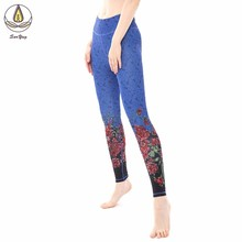 Yoga Printing Pants Sport Leggings Scrunch Women Gym Fitness Butt Lift High Elastic Waist Workout Sport Wear Hips Trousers Tight цены