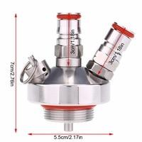 304 Stainless Steel Mini Keg Tap Dispenser For Mini Beer Keg Dispenser Growler Homebrew Spear 3.6l/5l/10l Home Brew Beer Tool